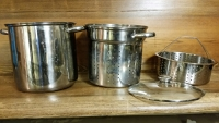 Strainer & Steamer Pot