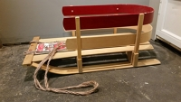 Child size Wooden Sled