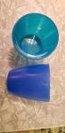 Small plastic cups