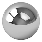 "1"" Inch Chrome Steel Bearing Balls 10 pack"