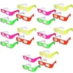 3D Prism Diffraction Firework Glasses