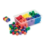 "1"" Wooden Cubes"