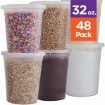 32 oz Plastic Storage Containers