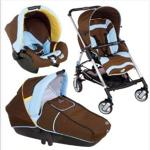 Bébé confort stroller trio streety chocolat