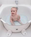 Babydam badverkleiner Réducteur de baignoire (white green)