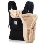 Ergobaby Carrier - Black & Camel