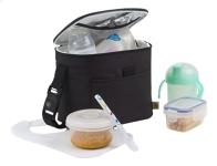 Isoleertas - Sac isotherme - Bottle & Food Bag - black