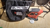 Black & Decker Mouse Sander with bag