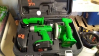 3 Piece Cordless Tool Kit