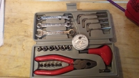 Small Tools Kit - Socket, Spanners and Hex Keys