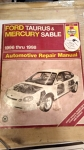Ford Taurus & Mercury Sable 1996 thru 1998