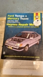 Ford Tempo & Mercury Topaz 1984 thru 1994