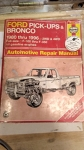 Ford Pick-Ups & Bronco 1980 thru 1996 Full-size F-100 thru F-350 All Gasoline Engines