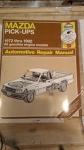 Book - Mazda Pick-ups 1972 thru 1992 All Gasoline engine models