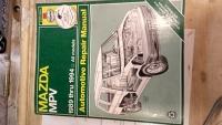 Book - Mazda MVP 1989 thru 1994 All Models