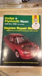 Dodge & Plymouth Neon 1995 thru 1999 All Models