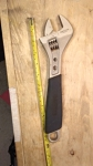 Adjustable Wrench 12 inch