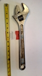 Adjustable Wrench 15""