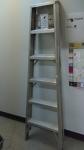 6 ft aluminium step ladder