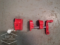 "1"" threaded bar clamp"