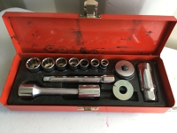 """3/8 drive SAE to 3/4"""" ratchet and Socket set"""