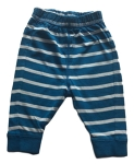 Frugi Blue and white striped trousers, 3-6 mths