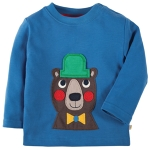 Frugi Bear with hat top, 18-24 mths