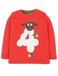 "Frugi Magic number ""4"" t-shirt, 3-4 yrs"
