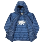 Kite Cocoon coat (blue), 6-12 mths