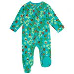 Piccalilly Sleepsuit (ladybird), 0-3 mths