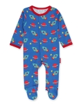 Toby Tiger Space print babygrow, 0-3 mths