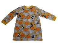 Biau-biau Bunnies french terry jumper dress , 2-3 yrs