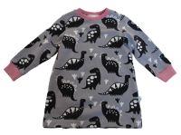 Biau-biau Dino french terry jumper dress , 18-24 mths