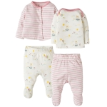 Frugi My first 4 piece set (tulip fields), newborn