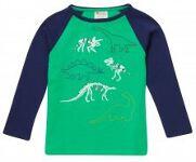 Piccalilly Dinosaur skeleton t-shirt, 2-3 yrs