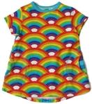 Biau-Biau Rainbow tunic top, 2-3 yrs