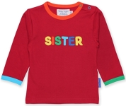 Toby Tiger Sister t-shirt, 6-12 mths