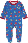 Toby Tiger Space print babygrow, 6-12 mths