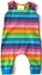 biau-biau Rainbow stripes romper, 3-6 mths