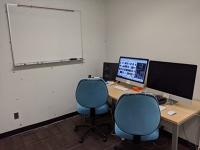 iMac editing station (CEE Editing Suite)
