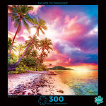 300 Piece Puzzle, Beach