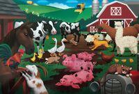 Floor Puzzle, Farm