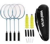 Badminton Racket Set with Shuttlecocks