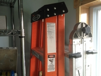 6' folding ladder