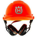 HARDHAT WITH EAR MUFFS