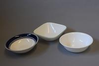 10 assorted soup bowls