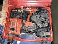 Hilti Sid 144-a 14.4v Lithium Ion Impact Driver Set