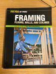 Framing- Floors, Walls and Ceilings