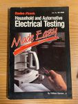 Household and Automotive Electrical Testing