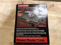 Craftsman Shaper / Router Table